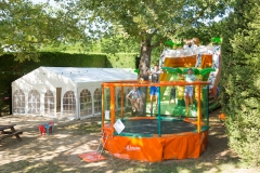 Aire jeux camping pour bebe RED