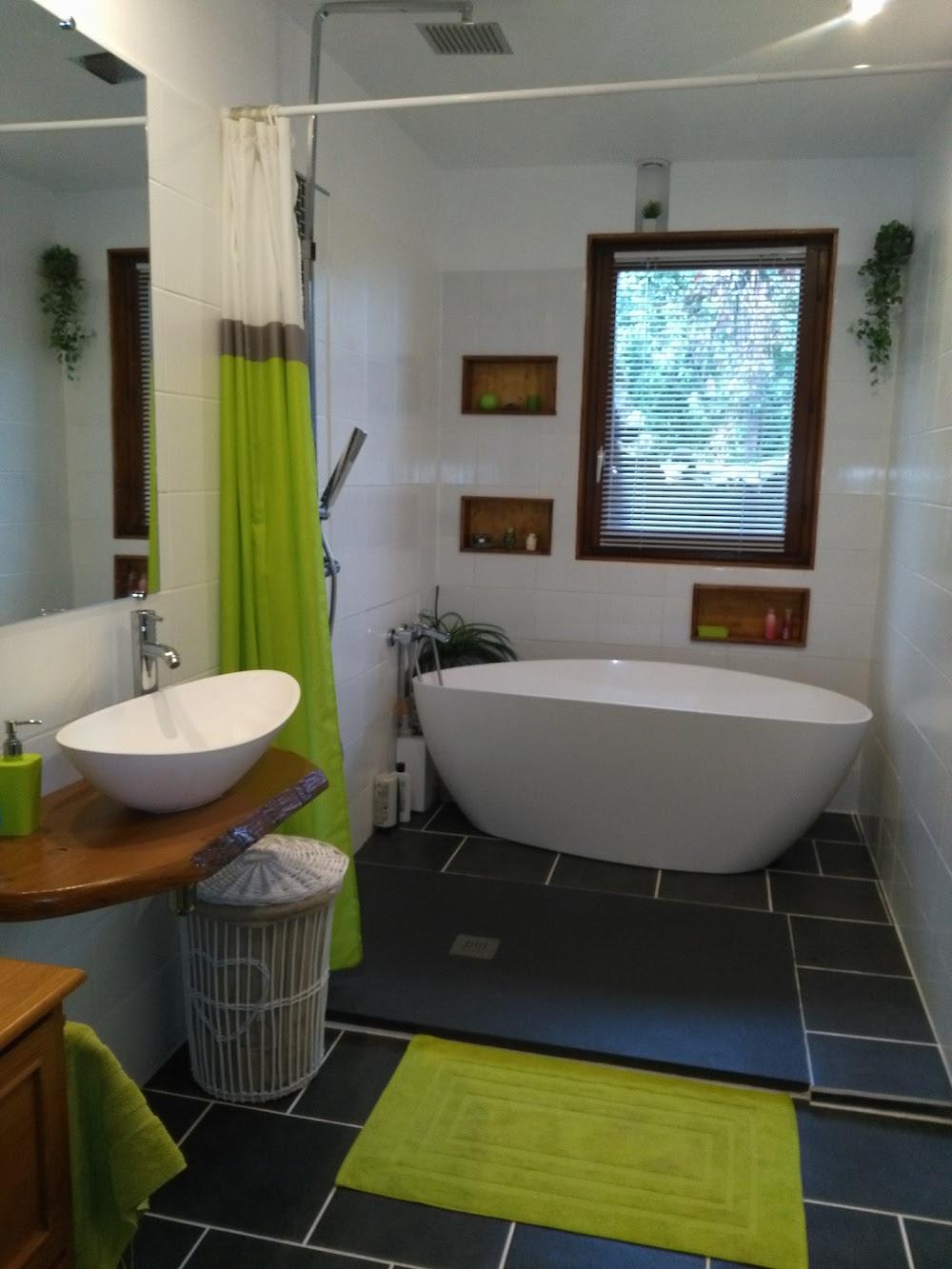 chalet montagne salle de bain design original