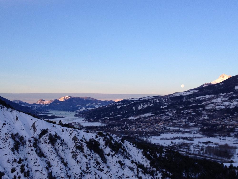 chalet vacances avec bébé montagne ski vue sur lac
