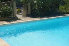 gite provencal drome piscine avec bébé provence