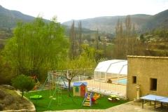 gite provencal drome piscine aire de jeux enfants